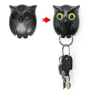 Night Owl Magnetic Wall Key Holder Keychains Hook Hanging Key It Will Open Eyes