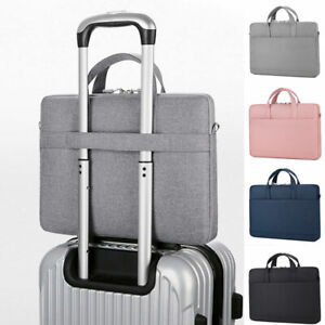 """Laptop Sleeve briefcase Carry Bag for Macbook Dell Sony HP 13"""" 14"""" 15.6"""" inch"""