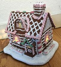 Silvestri Lighted Gingerbread House by William Dooley   Christmas    JB0497