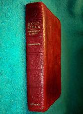 Vintage Cambridge Cameo Bible (Water Buffalo Calfskin) KJV, C C Refs,India Paper
