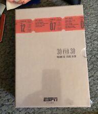 ESPN Films: 30 for 30 Collection, Vol. 2 (DVD, 2011, 6-Disc Set) * NEW *