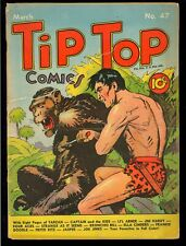 Tip Top Comics #47 Early Golden Age Tarzan United Features Comic 1940 FR-GD