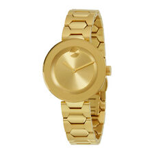 Movado Bold Gold Dial Ladies Watch 3600382