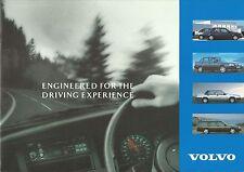 Volvo Range Sales Brochure - 1992, 400/900 Series, Estates, 850