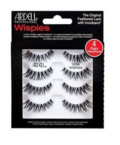 Ardell Demi Wispies False Lashes Multipack False Eyelashes Black  4 Pairs