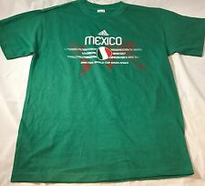 South Africa 2010 Fifa world cup Mexico soccer team adidas mens T-shirt size S