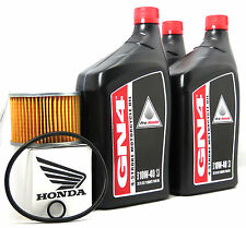 1984 HONDA CB650SC OIL CHANGE KIT