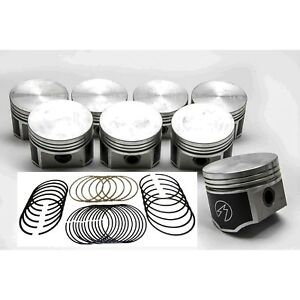 Speed Pro Chrysler/Dodge/Plymouth 440 Forged Flat Top 4bbl Pistons/8 w/rings +60