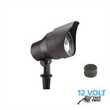 Luxform Lighting Derby Low Voltage Garden Bush Tree Spot Light in Black