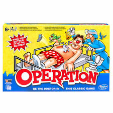 Operation Classic Children's Family Game Hasbro Ages 4