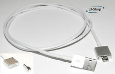 Magnet Micro USB Ladekabel Kabel für Samsung HTC Sony 1m Magnetkabel Mikro-USB
