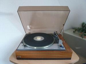 Vintage Plattenspieler Lenco L 75 mit Holzgehäuse Made in Switzerland