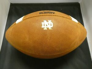 Very Rare Notre Dame Game Used Playoff Football