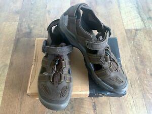 Teva Omnium 2 M Leather Sandals - Turkish Coffee Size 13 1019179