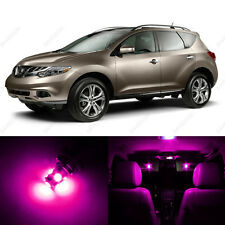 11 x Pink/Purple LED Interior Light Package For 2009 - 2013 Nissan Murano