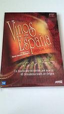 "DVD ""VINOS DE ESPAÑA DIAS DE VINO""  3 DVD DIGIPACK MARIA ANTONIA MARTINEZ"