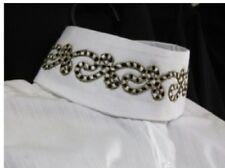 SHOW HUNT SHIRT WHITE ladies size 36 Custom Collar LTD Edition RJ Classics NWT