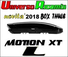 Box Da Tetto Thule Motion XT (L) NERO Lucido 450 Litri