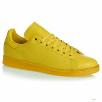 Adidas Originals Stan Smith Adicolor Trainers Shoes Leather S80247 Yellow