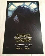 SDCC 2016 - Star Wars Force Awakens - Poster Print Limited Edition - Promo