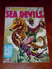 SHOWCASE #29 SEA DEVILS (1960) FINE- (5.5) cond. RUSS HEATH art GREYTONE cover
