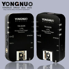 Yongnuo YN-622N TTL Wireless HSS 1/8000s Flash Trigger 2 Transceivers for Nikon