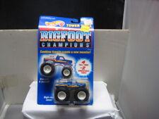 Hot Wheels Mint On Card 1992 Tower Tires Mini Big Foot Champions &