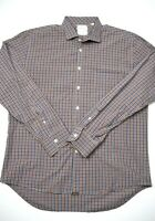Billy Reid Mens Button Up Dress Shirt Size XL Plaid Long Sleeve Standard Cut