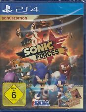 Sonic Forces - Bonusedition - PlayStation 4 / PS4 - NEU & OVP - USK 6
