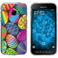 Silicone Case for Galaxy Xcover 4 / 4s Silicone Case Easter M3  Cover