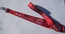 Audi Cup 2015 Schlüsselband Lanyard NEU (T171)