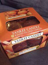 Yankee Candle Spiced Pumpkin Tealights - Box Of 10 - Brand New