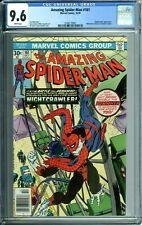 AMAZING SPIDER-MAN 161 CGC 9.6 WP early PUNISHER NEW CGC CASE MARVEL 1976