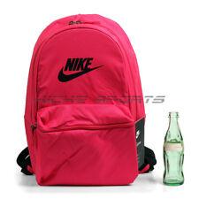 684272f08b Nike Heritage Backpacks   Bookbags Casual LapTop Sleeve Pink Black  BA5749-666