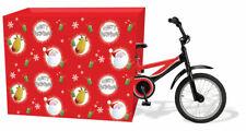 Jumbo Merry Christmas Santa Sack Stocking Bicycle Gift Wrap Large Presents 8940