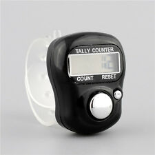 5 Digit Digital Adjustable Electronic Tally Ring Counter For Golf Multicolor Spo