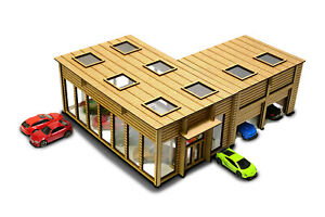 Showroom 1/64th Scale Garage Kit for Hot Wheels, Matchbox & other Diecast Cars