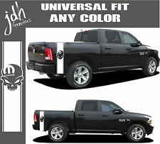 Truck Stripe Vinyl Decal Sticker Mopar Skull Fits Dodge Ram Dakota 1500 2500