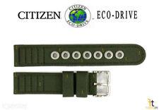 Citizen Eco-Drive BM8180-03E 18mm Green Cloth Nylon Watch Band E101M-S006597