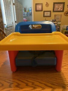 Vintage Collectible Boy Girl Safety 1st Grow with Me Portable Booster Seat