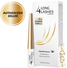 Long 4 Lashes FX5 POWER FORMULA Eyelash GROWTH Enhancing Serum 3ml ✔AUTHORISED✔