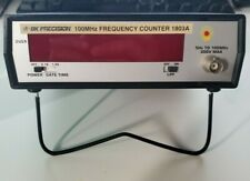 Bk Precision 100mhz Frequency Counter 1803a
