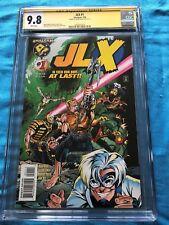 JLX #1 - Amalgam - CGC SS 9.8 NM/MT - Signed by Mark Waid