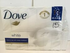 Dove Bar Soap White 14 bars Body Wash Beauty Bath Shower Skin Moisturizing Cream