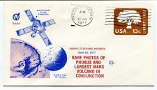 1977 Rare Photos Phobus Largest Mars Volcano Conjunction Pasadena NASA USA SAT