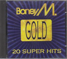 BONEY M. - gold 20 super hits CD