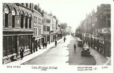 Berkshire Postcard - Old Eton - From Windsor Bridge c1923   - U180