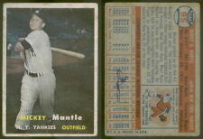 (7138) 1957 Topps 95 Mickey Mantle Yankees-GD