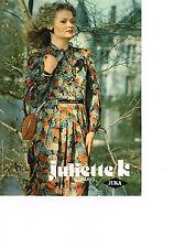PUBLICITE  1976   JUKA  JULIETTE K   pret  à porter