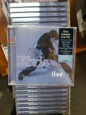 Elvis Presley - Elvis Live (Job Lot Wholesale x25) New & Sealed CDs